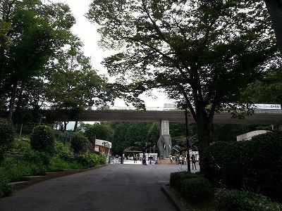 多摩動物園紅葉入り口