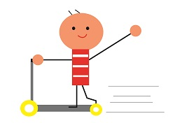 子供のキックスケーターの事故を防ぐには?