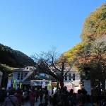 高尾山清滝駅付近混雑状況