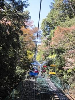 高尾山リフト2