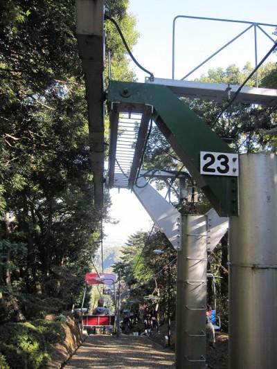 高尾山リフト1