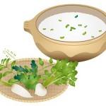 七草がゆは朝に食べるもの?七草がゆの作り方と副菜は?