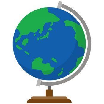 小学校入学祝い地球儀