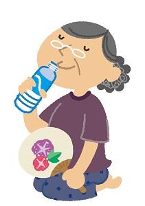 お年寄りの熱中症対策エアコンなしで熱中症予防する方法は?
