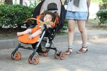熱中症予防赤ちゃんベビーカー