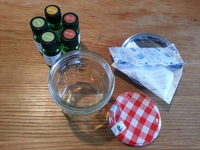 保冷材を再利用アロマで芳香剤作りと冷蔵庫には消臭剤として♪