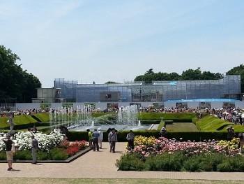 神代植物園バラ園全体