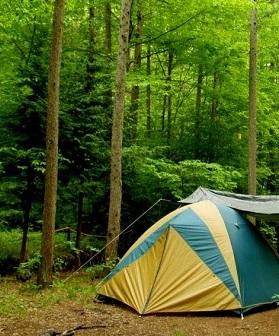 キャンプ寝袋リュツク1