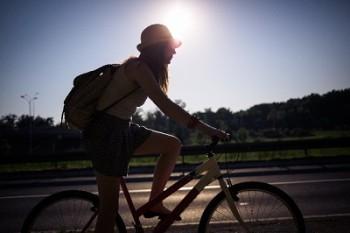 自転車通勤汗対策