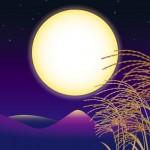 月見は十五夜と十三夜の両方を観る?十五夜と中秋の名月の違いは?