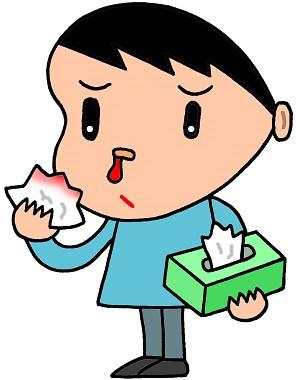 子供の鼻血夜中に突然起こった!原因は?暑さが原因?正しい処置方法は?