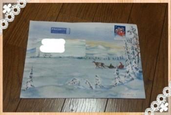 サンタクロースからの手紙