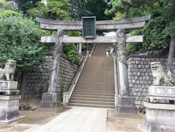 s-品川神社一粒万倍の泉と富士塚 (3)
