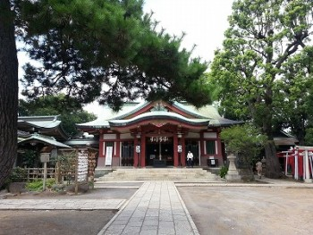 s-品川神社一粒万倍の泉と富士塚 (9)
