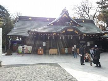 大國魂神社縁結び (2)