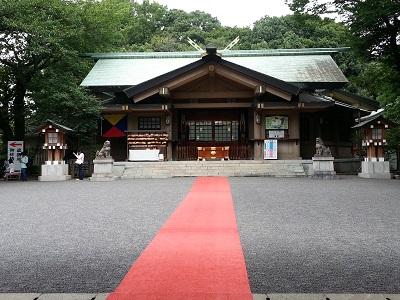 東郷神社初詣混雑
