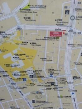 愛宕神社駅前地図