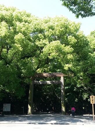 熱田神宮パワースポット南門正門