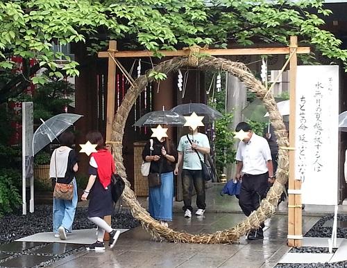 東京大神宮の茅の輪くぐりの仕方は?