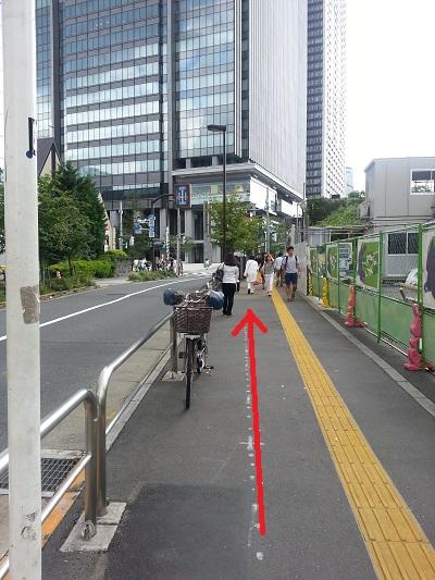 東京大神宮飯田橋駅西口順路2