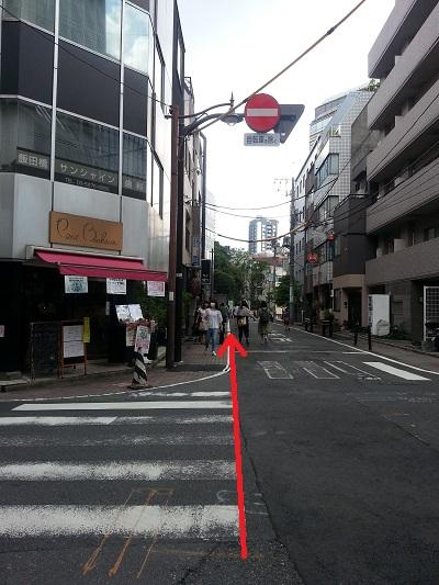東京大神宮飯田橋駅西口順路6