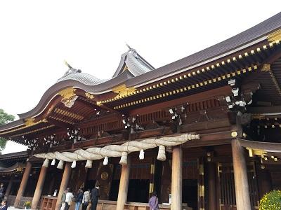 寒川神社アクセス電車では?受付時間と御朱印の場所も。