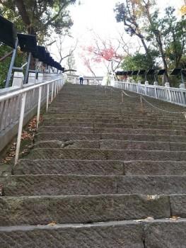 愛宕神社出世の石段混雑