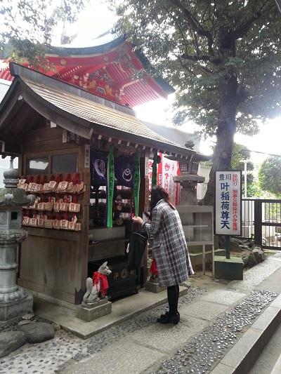 豊川稲荷東京別院叶神社お参り