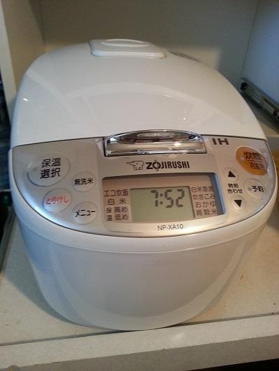 炊飯器内がま買い替え象印