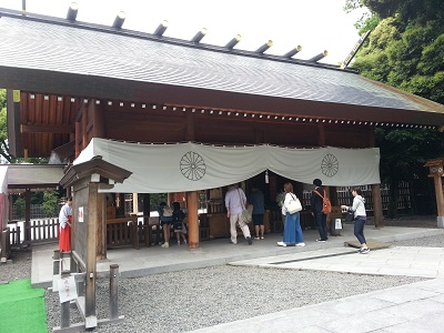阿佐ヶ谷神明宮拝殿