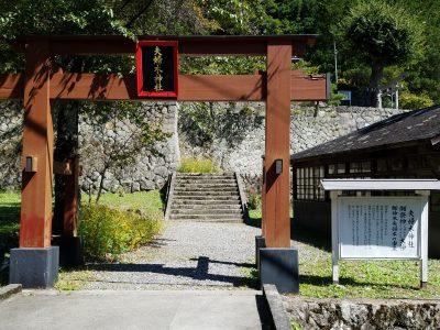 夫婦木神社昇仙峡金桜神社の近く