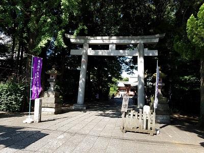 武蔵野八幡宮のアクセスと時間は?七五三の受付など。