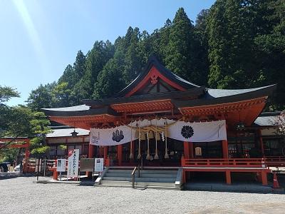 金櫻神社社殿