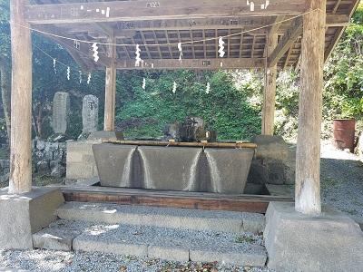 金櫻神社手水舎
