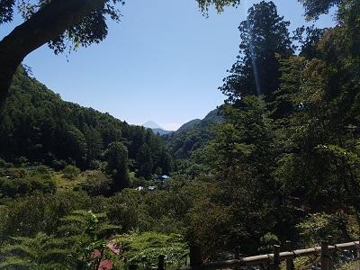 金桜神社遥拝場所からの景色