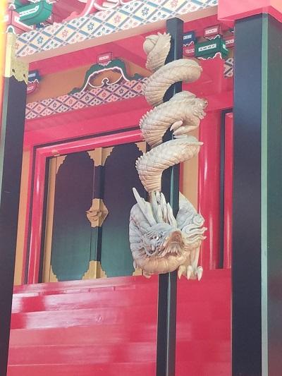 金桜神社龍1