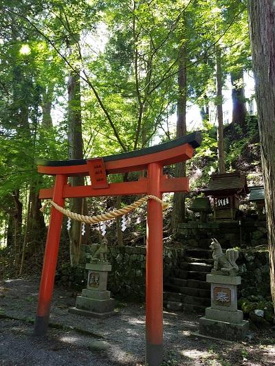 金桜神社末社三社(稲荷社.秋葉社.水神社)