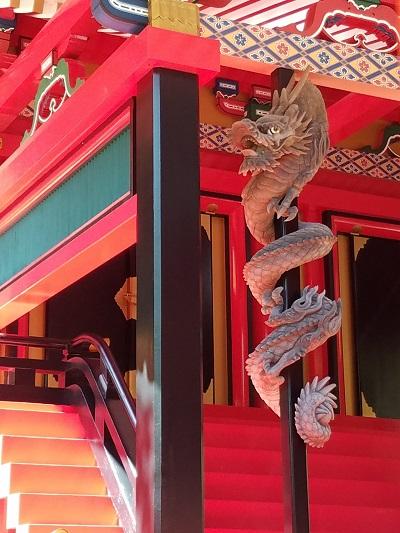金桜神社龍