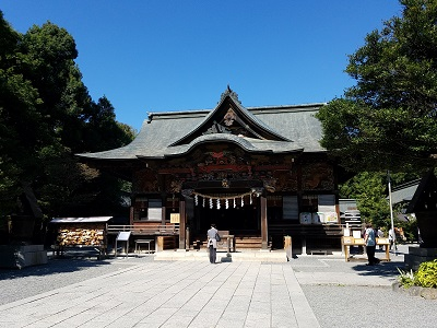 秩父神社パワースポット拝殿