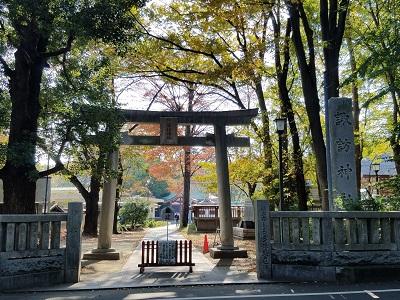 立川諏訪神社アクセス2