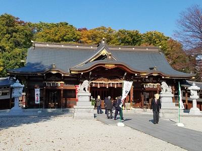 立川諏訪神社拝殿