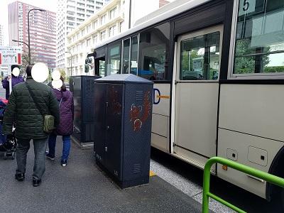 オンワードファミリーセール会場までの送迎バス