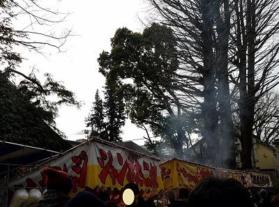 田無神社節分祭屋台もいっぱい