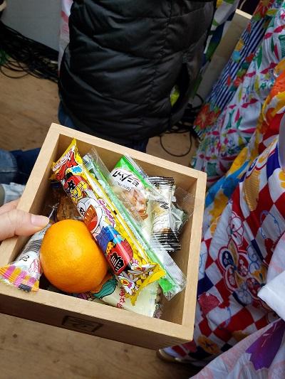田無神社節分祭豆まき参加