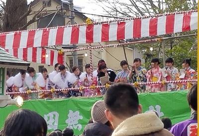 田無神社節分祭ゲスト