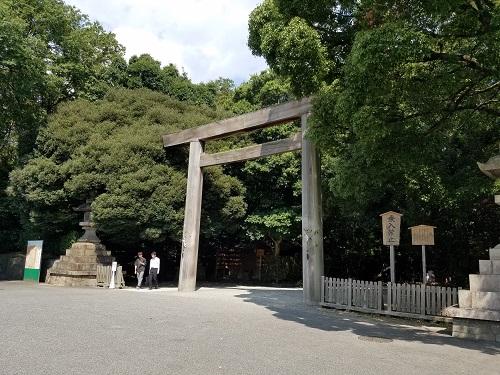 名古屋神宮西門