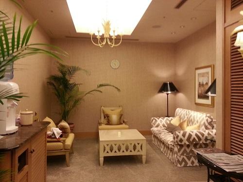 マリオットホテルフットネスクラブリラクゼーションルーム