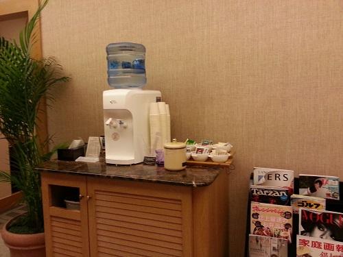 マリオットホテルリラクゼーションルームお茶無料