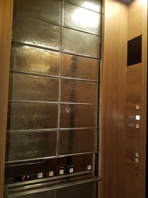 虎ノ門ヒルズアンダーズ東京エレベーター