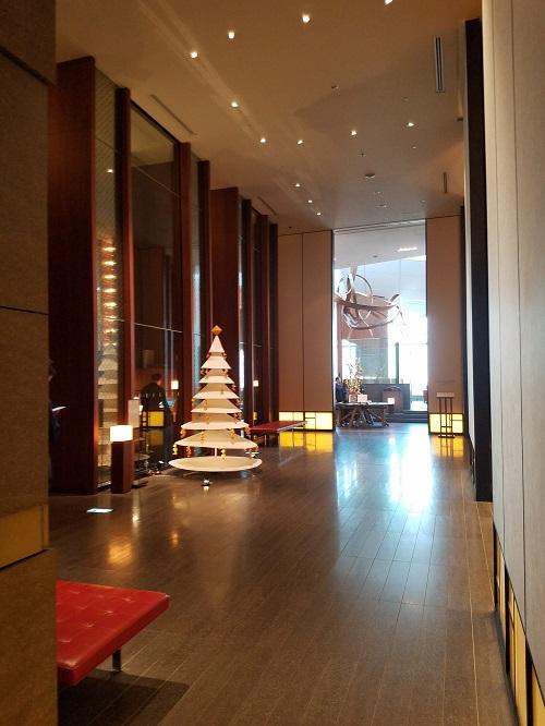 アンダーズ東京エレベーター51階アクセス